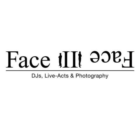 Logo: Face II Face DJ Service, Partner von WEDD CLUB, exklusives Clubbing für Hochzeitsdienstleister